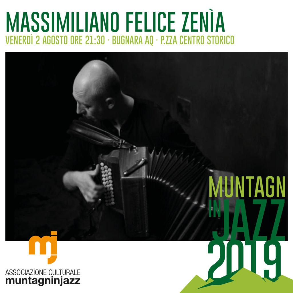 Massimiliano Felice Zenìa - 2 Agosto 2019 - Bugnara AQ